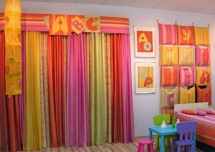 А Вы слышали о кисейных радужных шторах? в фото