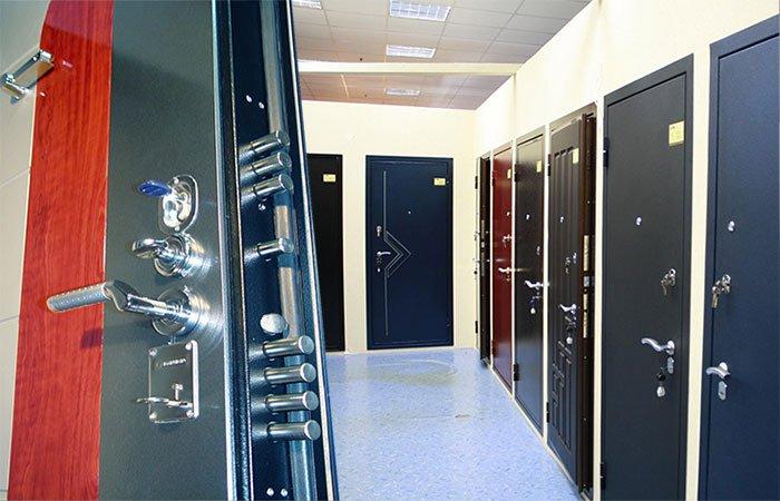 Бронированные входные двери в фото