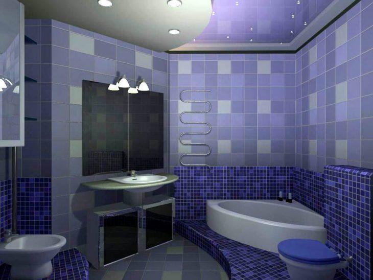 Бюджетный вариант отделки ванной комнаты