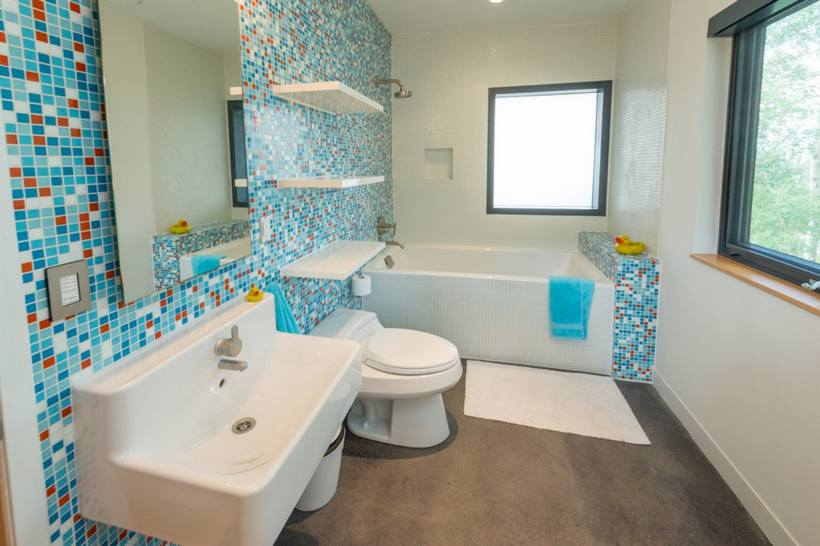 Цвет ванной комнаты — как выбрать палитру материалов для отделки?