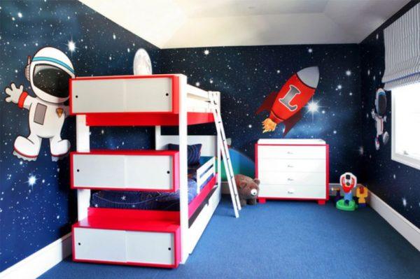 Детская для двух мальчиков: зонирование, выбор мебели, дизайн в зависимости от возраста, фото