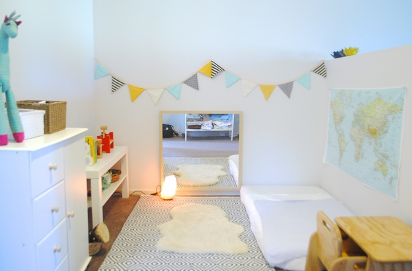 Детская комната по Монтессори