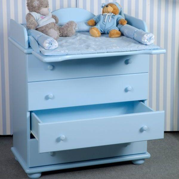 Детский комод с пеленальным столиком — удобно и для мамы, и для малыша