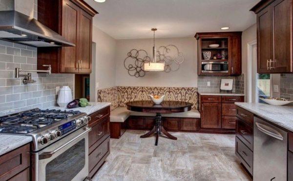 Диван со спальным местом на кухню: угловой, раскладной, выкатной