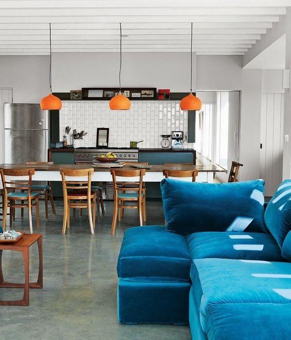 Диваны для кухни со спальным местом: идеи для малогабаритных квартир, фото интерьеров