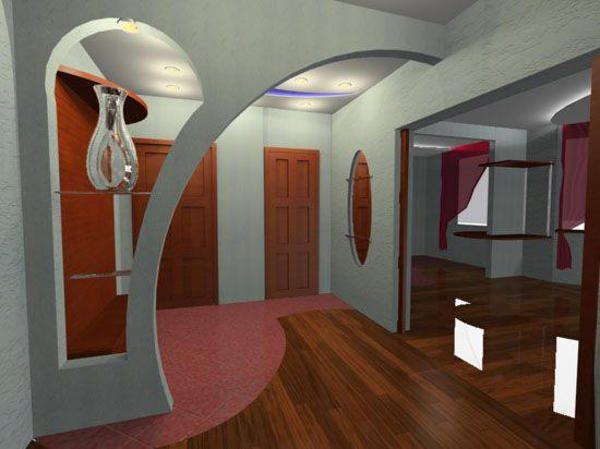Дизайн арки в прихожей — фото нестандартных решений