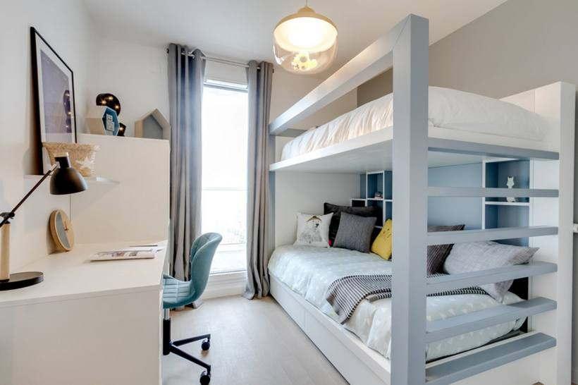 Дизайн маленькой детской комнаты: 50 фото интерьеров