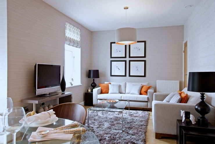 Дизайн маленькой гостиной: 100 лучших фото интерьеров комнаты