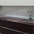 Дизайн прямой кухни 3 метра – фото, особенности оформления и планировки