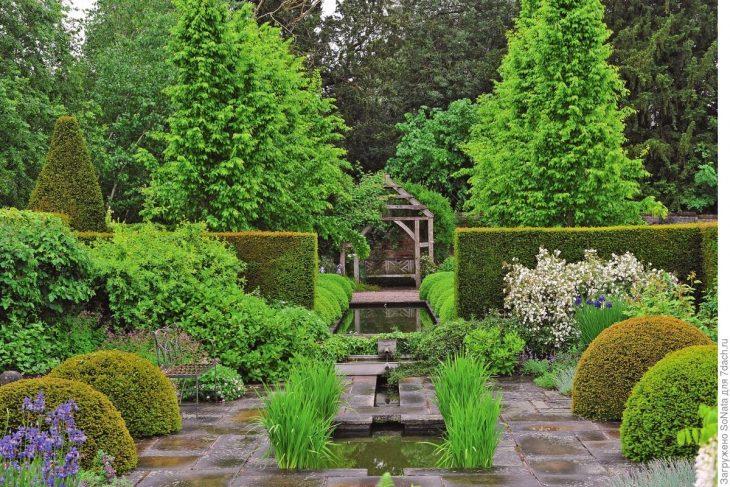Дизайн садового участка фотогалерея