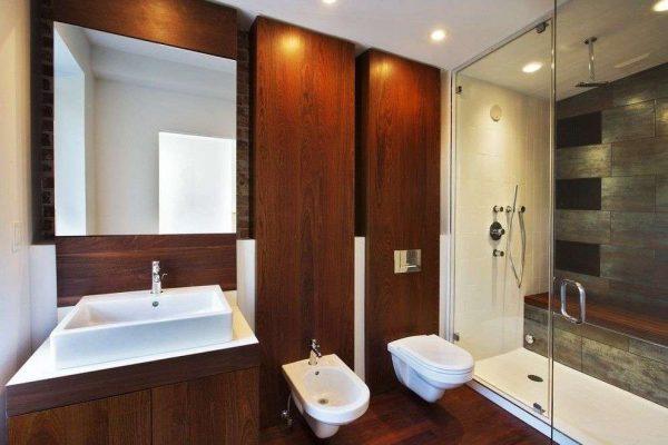 Дизайн ванной комнаты совмещенной с туалетом: преимущества и недостатки, фото