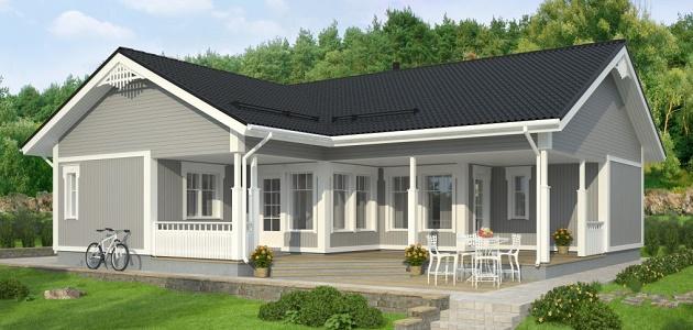 Дома по финской технологии в фото