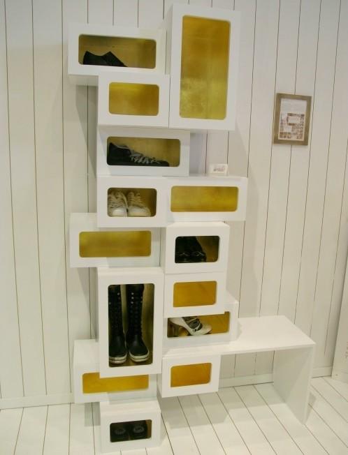 Галошница для обуви в прихожую: виды, типы, материалы