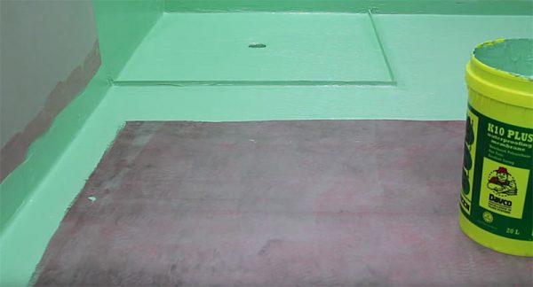 Гидроизоляция ванной комнаты под плитку: что лучше, примеры на видео