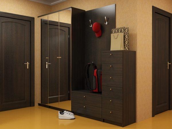 Идеи дизайна прихожей со шкафом купе — фото интерьров