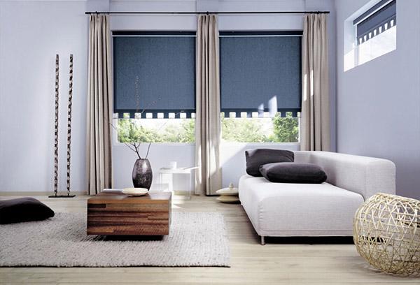 Как крепятся рулонные шторы: виды и правила установки в фото