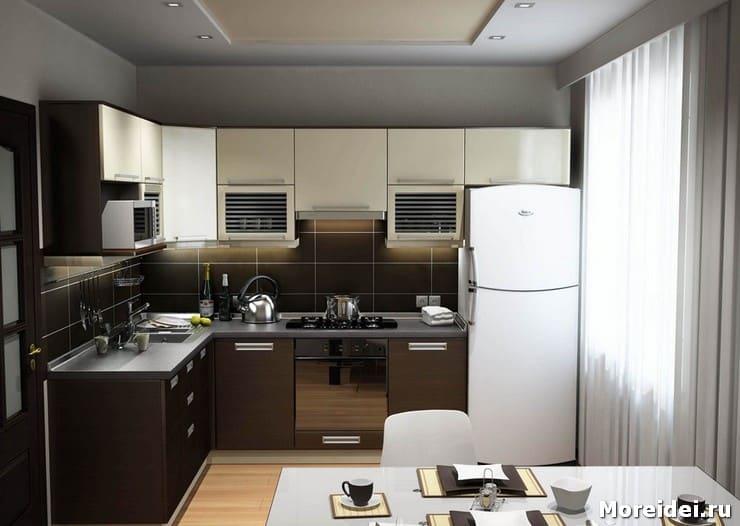 Как необычно оформить дизайн стандартной кухни?