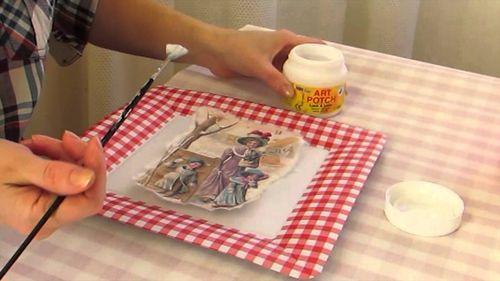 Как пользоваться рисовой бумагой для декупажа