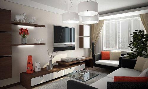 Как правильно расставить мебель в гостиной в фото