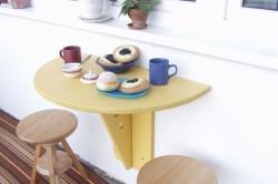 Как своими руками сделать откидной стол? в фото
