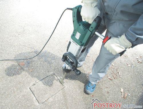 Как выбрать электрический отбойный молоток в фото