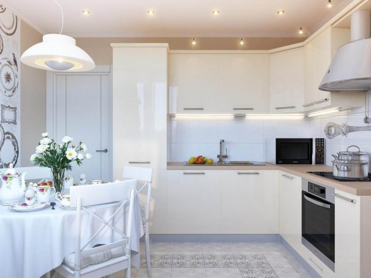 Красивый интерьер современной кухни 2018 — 80 фото лучших интерьеров кухни