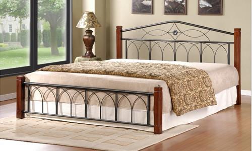 Кровать своими руками из металла – изготовление и покраска в фото