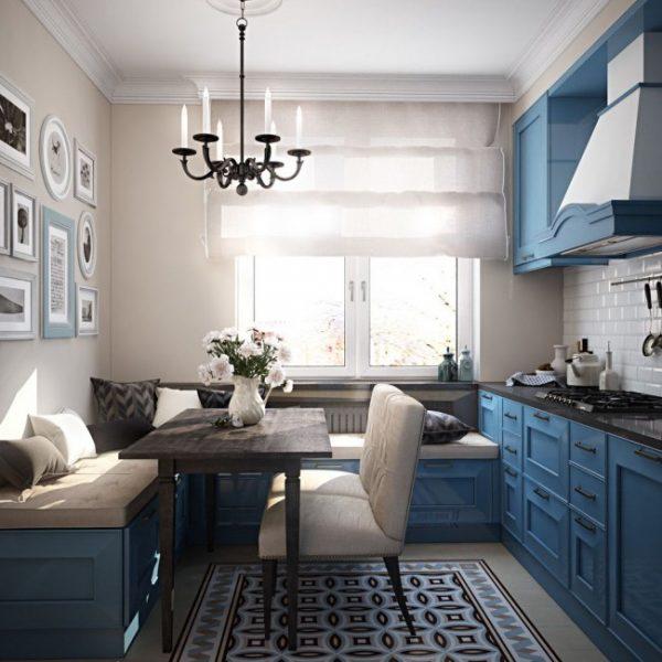 Кухня 10 кв метров: идеи для кухни, фото интерьеров