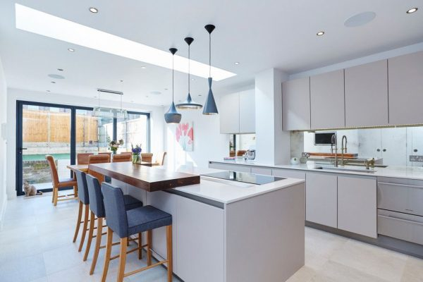 Кухня с барной стойкой – дизайн фото, идеи для маленькой кухни