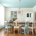 Кухня в бирюзовом цвете – особенности, сочетание с другими цветами, фото интерьеров