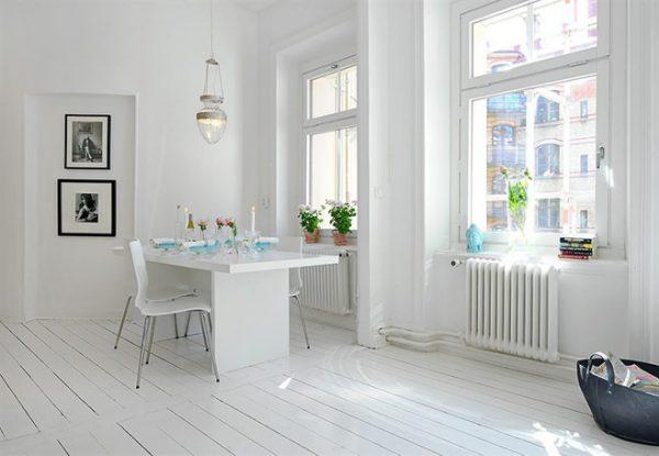 Кухня в скандинавском стиле: особенности отделки, советы по оформлению, фото интерьеров
