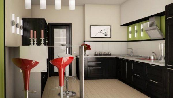 Кухонный гарнитур для маленькой кухни: фото, варианты оформления, дизайн
