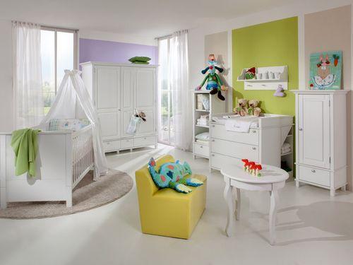 Лучшие идеи интерьера для детской с белой мебелью