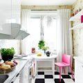 Маленькая кухня в хрущевке: идеи дизайна, особенности планировки, фото интерьеров