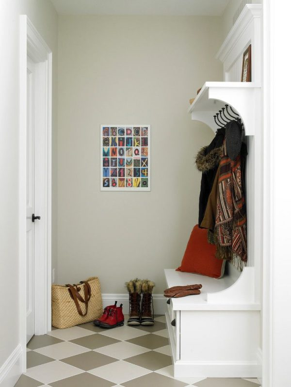 Маленькие прихожие в современном стиле — фото интерьеров дизайна