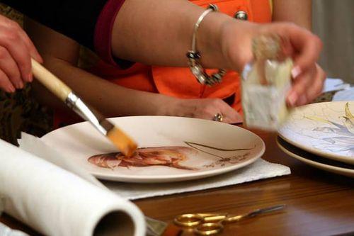 Мастер-класс по декупажу тарелок для начинающих