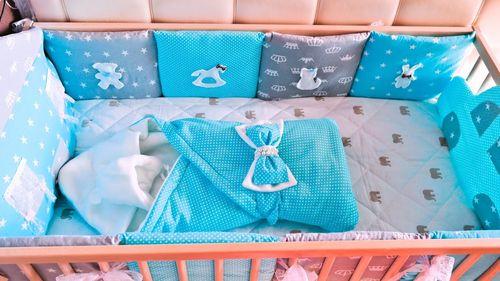 Мастер-класс по пошиву бортиков в кроватку