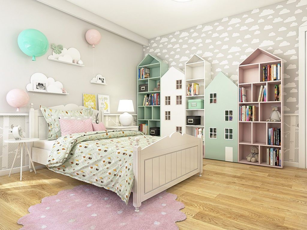 Мебель для детской комнаты: фото и идеи 2018
