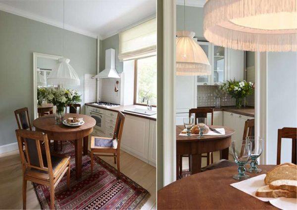 Мебель для маленькой кухни: правила выбора, планировка, материалы, фото