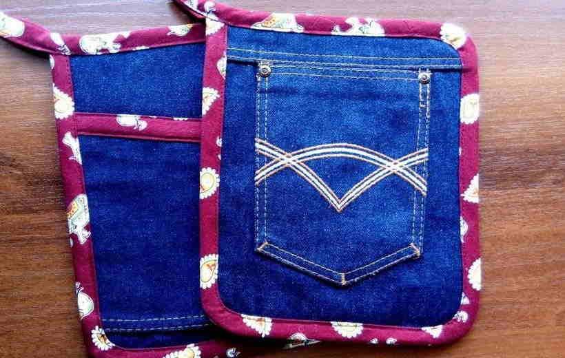 Модные аксессуары из старых джинсов своими руками: фото инструкции