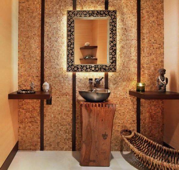 Мозаика для ванной комнаты: особенности отделки, варианты декора, фото дизайнов