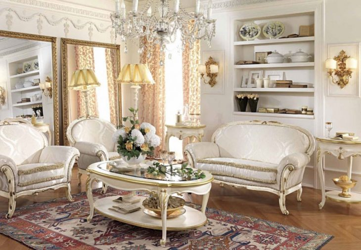 Мягкая мебель в классическом стиле