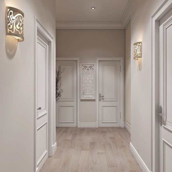 Настенные светильники для прихожей и коридора: виды и особенности выбора