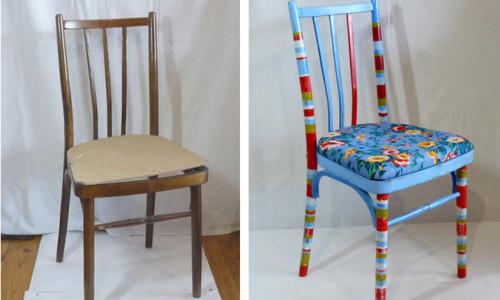 Обивка старых стульев своими руками в фото