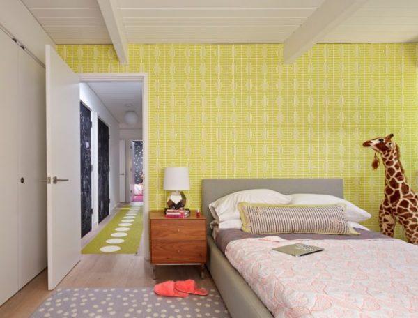 Обои для подростковой комнаты для девочки — цвет, стиль, выбор изображения, фото в интерьере