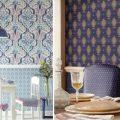 Обои на кухне: фото в интерьере, цветовое решение, способы оклейки, альтернативные материалы
