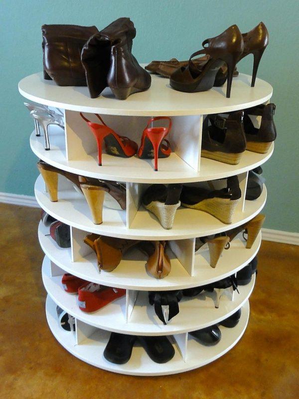 Обувные полки для прихожей — особенности выбора, фото дизайна, как сделать своими руками