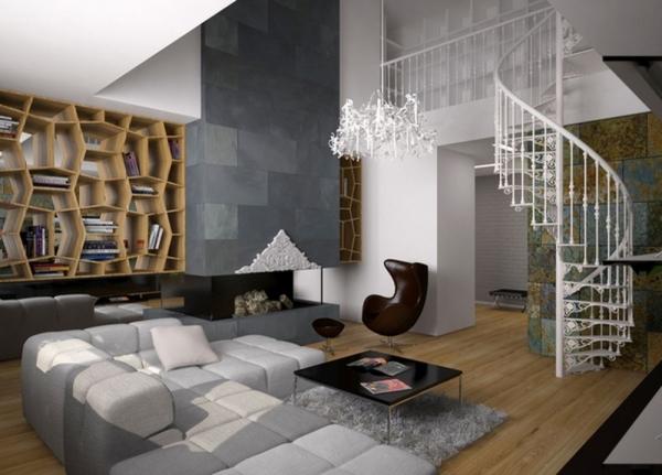 Оформляем гостиную в стиле модерн