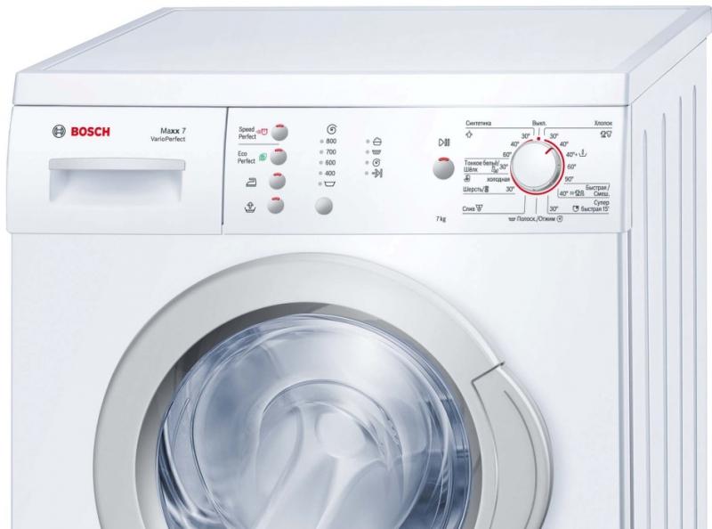 Ошибки и неисправности стиральных машин Bosch в фото