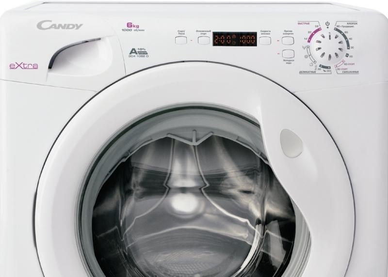 Ошибки и неисправности стиральных машин Candy в фото